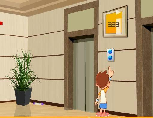 Cute Boy Elevator Escape Games2Jolly