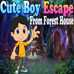 Cute Boy Escape From Forest House Games4King
