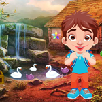 Cute Boy Rescue From The Robber Games4King