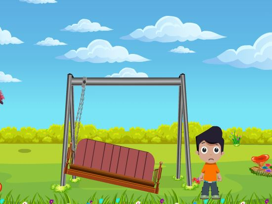 Cute Boy Swing Escape Games2Jolly
