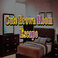 Cute Brown Room Escape GamesClicker