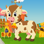 Cute Calf Escape Games4King