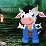 Cute Calf Rescue 2 Games4King