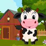 Cute Calf Rescue Games4King