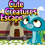 Cute Creatures Escape Games4King