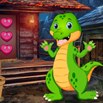 Cute Crocodile Rescue Games4King