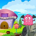 Cute Devil Creature Rescue Games4King