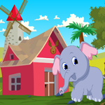 Cute Elephant Rescue Games4King