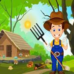 Cute Farmer Rescue Games4King