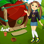 Cute Girl Escape From Fantasy House Games4King
