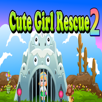 Cute Girl Rescue 2 Games4King