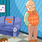 Cute Grandfather Rescue Games4King