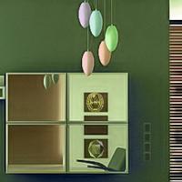 Cute Green House Escape GamesClicker