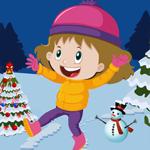 Cute Kindergarten Girl Rescue Games4King