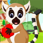 Cute Lemur Rescue Games4King