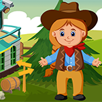 Cute Little Cowgirl Escape Games4King