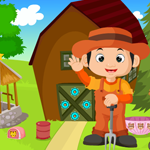 Cute Little Farmer Rescue Games4King