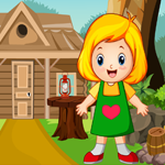 Cute Little Girl Rescue Games4King