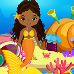 Cute Mermaid Girl Rescue Games4King