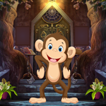 Cute Monkey Rescue 2 Games4King