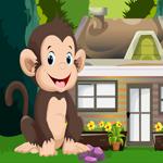 Cute Monkey Rescue Games4King