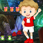 Cute Naughty Boy Rescue Games4King