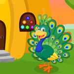 Cute Peacock Rescue Games4King