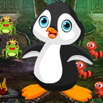 Cute Penguin Rescue Games4King