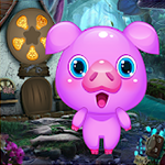 Cute Pig Rescue Games4King