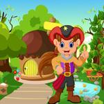 Cute Pirate Girl Rescue Games4King