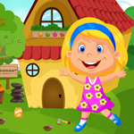 Cute Pretty Girl Rescue Games4King