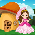 Cute Princess Escape From Fantasy House Games4King