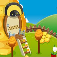 Cute Queen Bee Rescue GenieFunGames