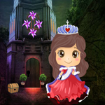 Cute Queen Rescue Games4King