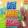 Cute Rabbit Escape 2 Games2Jolly