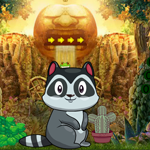Cute Raccoon Escape Games4King
