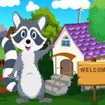 Cute Raccoon Rescue Games4King