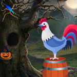 Cute Rooster Rescue 2 Games4King