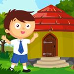 Cute School Boy Rescue Games4King
