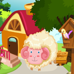 Cute Sheep Rescue Games4King