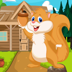 Cute Squirrel Rescue Games4King
