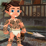 Cute Tribe Boy Rescue Game4King
