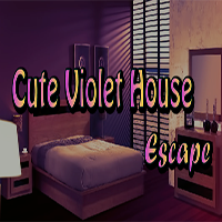 Cute Violet House Escape GamesClicker