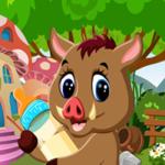 Cute Wild Boar Rescue Games4King