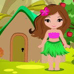 Cute Wild Girl Rescue Games4King