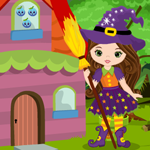 Cute Witch Escape Games4King