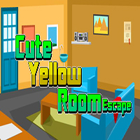 Cute Yellow Room Escape EscapeGamesZone