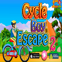 Cycle Boy Escape 2 Games2Jolly