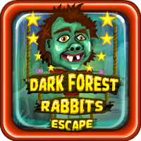 Dark Forest Rabbits Escape Games4Escape