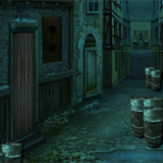 Dark Street Escape 8BGames